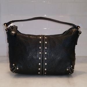Michael Kors Leather Studded Astor Mini Bag